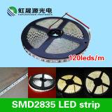 セリウム、RoHSが付いている高い明るさ120LEDs/M SMD2835適用範囲が広いLEDライトストリップ