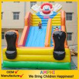 Clown-Schloss-aufblasbares Wasser-Plättchen für Vergnügungspark