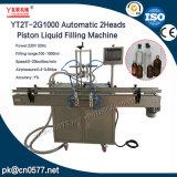 Kolben-Yt2t-2g1000 flüssige Füllmaschine des automatischen 2heads