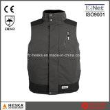 Os Waistcoats do Mens En343 Waterproof a veste da segurança
