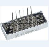Afficheur LED à quatre chiffres de 7 segments de rainure de clavette avec plus de haute qualité