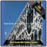 Panneau en aluminium perforé spécial de modèle moderne pour le système de façade