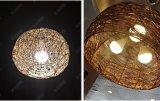 luz de bulbo del filamento LED de 6W A60 E27 Edison