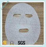 Wasser saugfähiges Spunlace nichtgewebtes Gesichtsschablonen-Gewebe