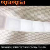 13.56MHz etiquetas adhesivas de encargo de las etiquetas engomadas RFID para los libros de la biblioteca