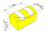 cabeças 2-Track lidas magnéticas de 4.5mm