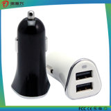 Mini cargador dual promocional del coche del USB (CC1505)