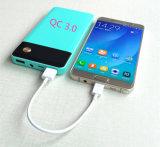 Pouvoir mobile de la charge 3.0 de côté rapide mince portatif de pouvoir pour des smartphones