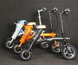 "motocicleta elétrica dobrada do ""trotinette"" elétrico do ""trotinette"" de 36V 250W bicicleta elétrica"