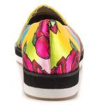 Neue Form-kühle Frauen-flache verursachende Schuhe (YF-2)