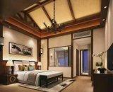 Grosses Schlafzimmer-gutes Beleuchtung-Stahlkonstruktion-Fertighaus-Haus