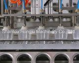 플라스틱 PP 컵을%s 자동적인 컵 충전물 그리고 밀봉 기계