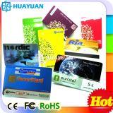 ISO14443A MIFARE PLUS de Kaart van de Loyaliteit RFID van het Lidmaatschap van pvc van S 2K