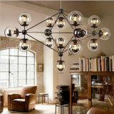 2W 4W 6W 8W G125 halbe silberne Edison LED Heizfaden-Birne