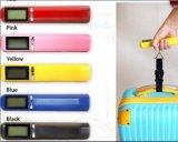 Escala portátil colorida da bagagem do peso do curso