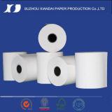 El papel termal azul llano más popular del papel termal