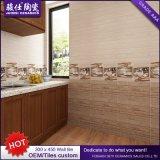 Foshan impermeable 300X450 interior azulejo de la pared de cerámica