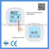 De digitale Thermometer van het Vlees voor het Koken van BBQ van de Keuken Oven met Tijdopnemer