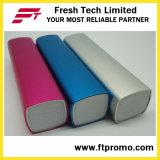 Il potere quadrato stampato abitudine mobile portatile incassa (C017)