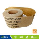 Scegliere la gomma parteggiata del Kraft di nastro di carta per l'imballaggio della casella