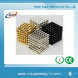 Cubo neo 5mm magnéticos 216 esferas magnéticas do ímã de Neodym