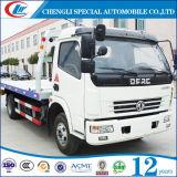 Caminhão de reboque Flatbed quente de Cpacity 4t do carregamento da venda 4*2