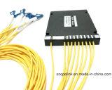 광학적인 Wdm Mux/Demux 높은 채널 8CH 플라스틱 상자 DWDM