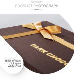 Boîte-cadeau épaisse élégante moderne d'emballage de chocolat de carton