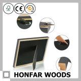 """Frame de retrato de madeira moderno branco com a esteira que abre 5 """" X7.5 """""""