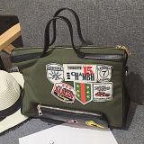 Bolsas bonitas à moda da menina com os sacos de ombro Sy7959 da decoração do emblema
