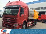 Sinotruck HOWO 8m3 como sellador síncrono de la viruta del tanque de Phalt y del tanque de la grava 12m3 para la venta