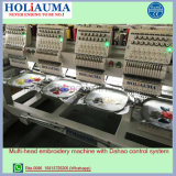 Holiauama 6 kleidet Hauptcomputer-Stickerei-Maschine mit Hut Shirt-Stickerei-Preise