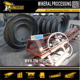 Tableau de secousse minéral en pierre d'exploitation de machine de rectification de minerai de sable