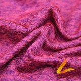 Tela elástico hecha punto de Lycra del Spandex del poliester para la aptitud de la ropa de deportes (LTT-DAYLZDMB#)