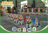 Sitzkinder des Freizeitpark-12 reiten musikalisches Karussell für Verkauf