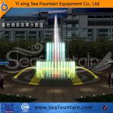 La fontaine décorative de musique de stationnement fait sur commande pour apprécient