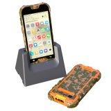 1d/2DバーコードのQrコードスキャンナーのデータ機器が付いているSmartphone険しいIP68産業手持ち型ターミナル