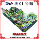 Equipamento interno comercial do campo de jogos das grandes crianças com corrediça