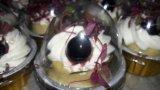 결혼식을%s 상한 Heart-Shaped 크리스마스 케이크 굽기 컵
