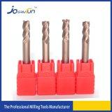 Accesorios sólidos de las máquinas herramientas CNC de las herramientas de corte del carburo del tungsteno de Joeryfun