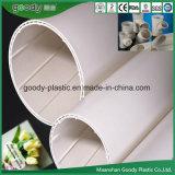 Bon drain spiralé creux de /PVC de pipe de silence de la qualité PVC-U