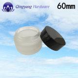 60mm Aluminium-Plastikschutzkappe für Gesichts-Sahne-Glas u. kosmetische Glasflasche