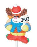 Xmasのゼリーの子供のための柔らかい破裂音キャンデー