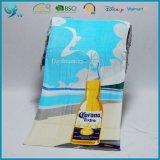 Хлопка велюра Терри изготовленный на заказ напечатанное флагом полотенце 100% пляжа