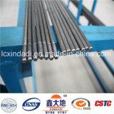 9.4mm normaler/glatter hoher Kohlenstoff-vorgespannter Beton-Oberflächendraht mit dem Durchzug