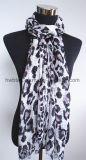 Signora tradizionale Scarf (HWBPS083) del filato del Bali dei Sequins del leopardo