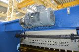 Hoja de aluminio plegable el freno de la prensa hidráulica del CNC de Wc67k