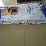 プラスチックAnimal Feed Packing Bags Dog Feed Bag (25kgへの15)