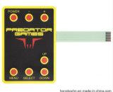 TV / DVD remoto interruptor de control de superposición gráfica teclados de membrana Conector del interruptor de llave