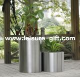 Potenciômetro da planta da decoração do jardim do aço Fo-9011 inoxidável